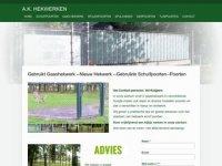 Screenshot van hekwerkenpoorten.nl