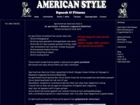 American style squash & fitness