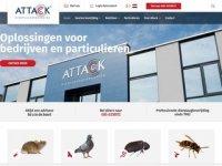 Screenshot van attack.nl