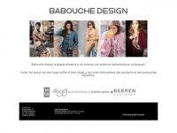 Babouche design baby- junior- en ...