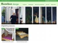 Bamboedesign Nederland - bamboe meubelen en ...