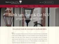 Bank ten Cate & Cie - Private banking