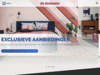 Screenshot van bedweter.nl