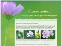 Screenshot van rosmarijne.nl
