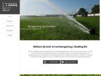 land-en tuinberegening J. Budding B.V.