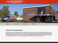 Screenshot van cor-oosterhoff.nl
