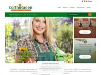Screenshot van corthogreen.com