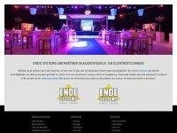 Screenshot van endesystems.nl