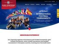 Junior football tournament - Euro-Sportring