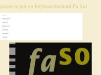 Fa Sol Piano- Orgel- en Keyboardschool