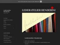 Lederaterlier Henderini