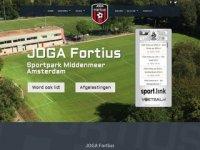 Website ASV Fortius