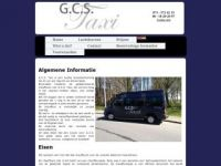 Screenshot van gcs-taxi.nl