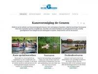 Kanovereniging De Geuzen Zaanstad - ...