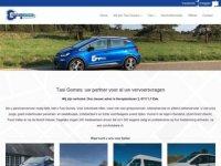 Screenshot van taxigomes.nl