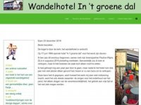 In t groene dal, het wandelhotel van Limburg