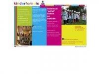 Screenshot van kinderfornuis.nl