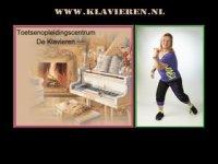 Screenshot van klavieren.nl