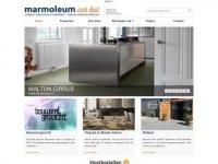 Marmoleum, Linoleum, Click-Marmoleum, tapijt ...