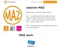 MAZ Vormgevers creatief vormgeversbedrijf