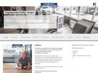 Tegelhandel Pieter Meijer - wandtegels ...