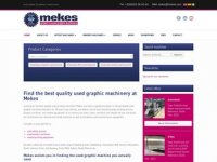 Mekes Graphic Machinery - specialised and ...