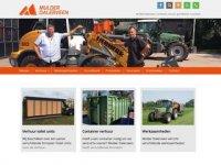 Screenshot van mulder-groenvoorziening.nl