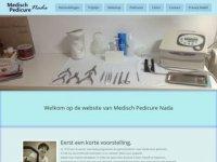 Screenshot van salon-nada.nl