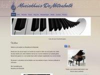 Notenbalk - pianoles