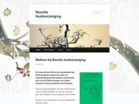 Screenshot van novellahuidverzorging.nl