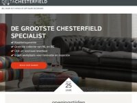 Screenshot van chesterfield.nl