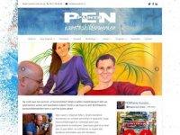 Screenshot van penpaints.nl