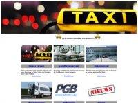Screenshot van taxipostma.nl