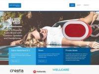 Screenshot van sabrenl.com