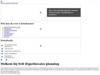 SvH Hypothecaire Planning