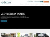 Screenshot van tereco.nl