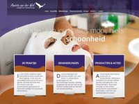 Screenshot van annietavanderwal.nl