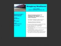 Weegbrug Waalhaven Rotterdam