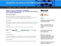 Delegate - Excel automatisering en -advies
