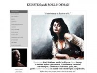Kunstenaar Roel Hofman