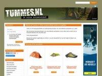 Tummes - D� online kampeerwinkel