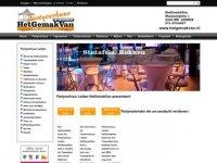 Het Gemak Van Partyverhuur in Leiden
