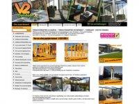 V2 outdoor kampeerartikelen webshop