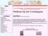 Screenshot van creakippen.nl