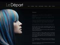 Le-depart