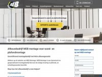 MEB Montage - Systeem Plafond