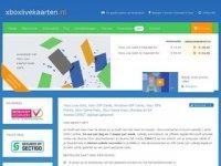 Screenshot van xboxlivekaarten.nl