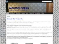 Mousseline glas - glasatelier
