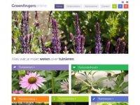 Screenshot van greenfingersonline.nl