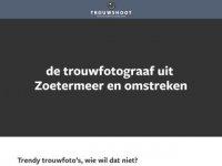 Screenshot van trouwshoot.nl